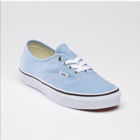 baby blue vans